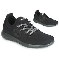 Schuhe Damen Sneaker Low Giesswein MERINO RUNNERS Schwarz