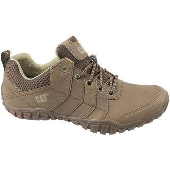 Schuhe Herren Sneaker Low Caterpillar Instruct Braun
