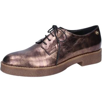 Schuhe Damen Slipper Liu Jo elegante bronze leder BY591 andere