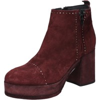 Schuhe Damen Low Boots Moma BY669 rot