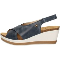 Schuhe Damen Sandalen / Sandaletten Susimoda 2721/24 Blau