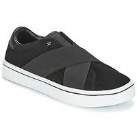 Schuhe Damen Slip on Skechers HI-LITE Schwarz