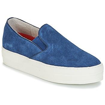 Schuhe Damen Slip on Skechers UPLIFT Blau