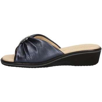 Schuhe Damen Pantoffel Susimoda 111114/14 Blau