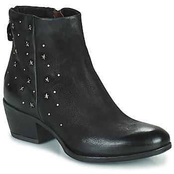 Schuhe Damen Boots Mjus DALLY STAR Schwarz