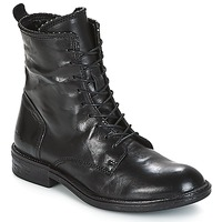 Schuhe Damen Boots Mjus PAL LACE Schwarz