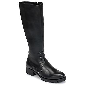 Schuhe Damen Klassische Stiefel Unisa IKERI Schwarz