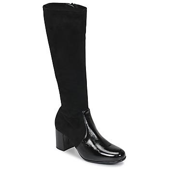 Schuhe Damen Klassische Stiefel Unisa ORLANDO Schwarz