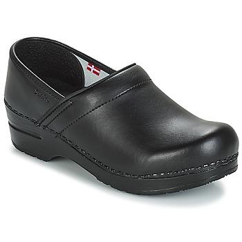 Schuhe Pantoletten / Clogs Sanita PROF Schwarz