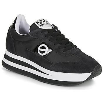 Schuhe Damen Sneaker Low No Name FLEX JOGGER Schwarz
