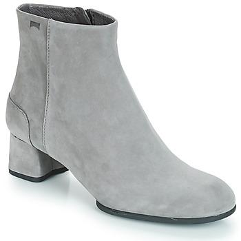 Schuhe Damen Low Boots Camper KIE0 Boots Grau