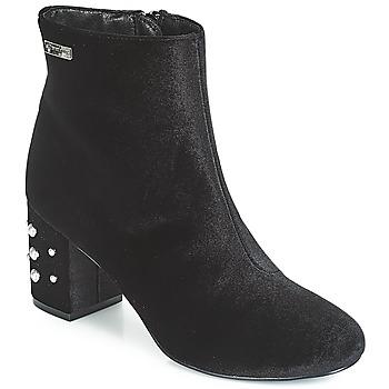 Schuhe Damen Low Boots Les Tropéziennes par M Belarbi CHANNON Schwarz