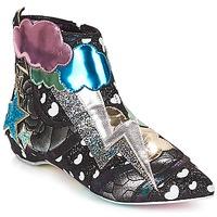 Schuhe Damen Boots Irregular Choice Electric boots Schwarz / Silber