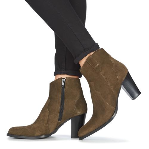 Myma PLOUTAS Kaki    Schuhe Low Boots Damen bdc122