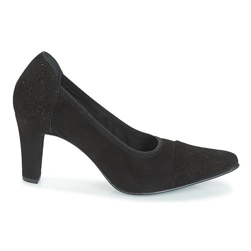 Myma PIZZANS Schwarz Schuhe Pumps Damen 109