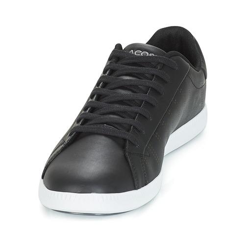 Lacoste GRADUATE Grau 318 1 Schwarz / Grau GRADUATE  Schuhe TurnschuheLow Herren 99 d74215