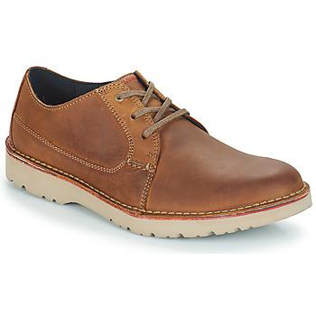 Schuhe Herren Derby-Schuhe Clarks VARGO PLAIN Braun
