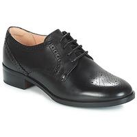 Schuhe Damen Derby-Schuhe Clarks NETLEY ROSE Schwarz
