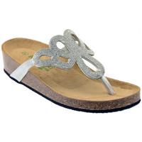 Schuhe Damen Sandalen / Sandaletten Riposella 19644ARGENTOsandale