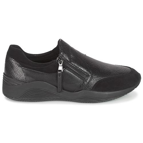 Geox D OMAYA Schwarz  Schuhe Sneaker Low Damen 119