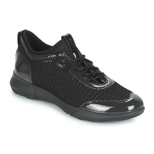 Geox D NEBULA X Schwarz  Schuhe Sneaker Low Damen 139