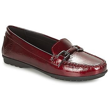 Schuhe Damen Slipper Geox D ELIDIA Bordeaux