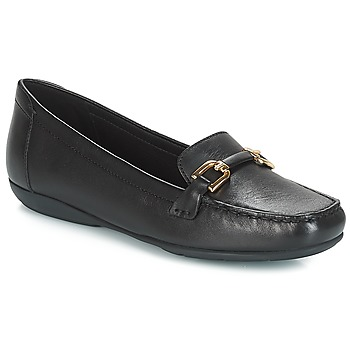 Schuhe Damen Slipper Geox D ANNYTAH MOC Schwarz