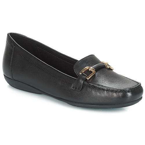 Geox D ANNYTAH MOC Schwarz  Schuhe Slipper Damen Damen Damen 99,99 e506d1