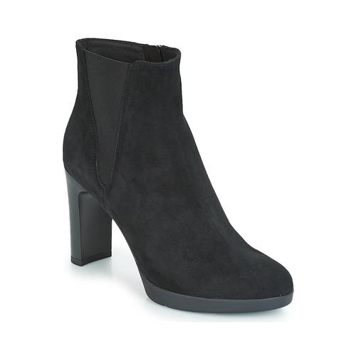 Geox D ANNYA HIGH Schwarz Schuhe Low Boots Damen 145