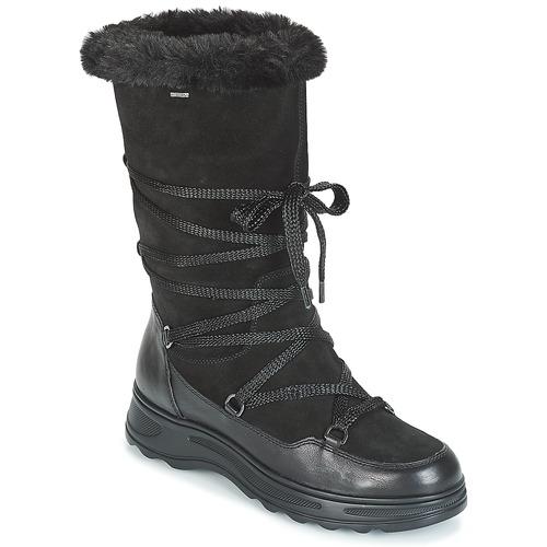 Geox D HOSMOS B ABX Schwarz  Schuhe Schneestiefel Damen