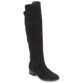 Schuhe Damen Kniestiefel Geox D FELICITY Schwarz
