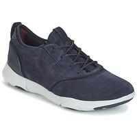 Schuhe Herren Sneaker Low Geox NEBULA S Navy