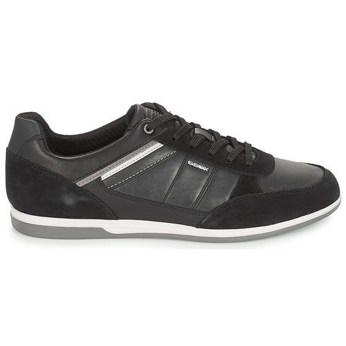 Geox U RENAN Schwarz  Schuhe Sneaker Low Herren 109