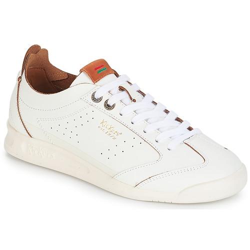Kickers KICK 18 Weiss  Schuhe Sneaker Low Damen 88,99