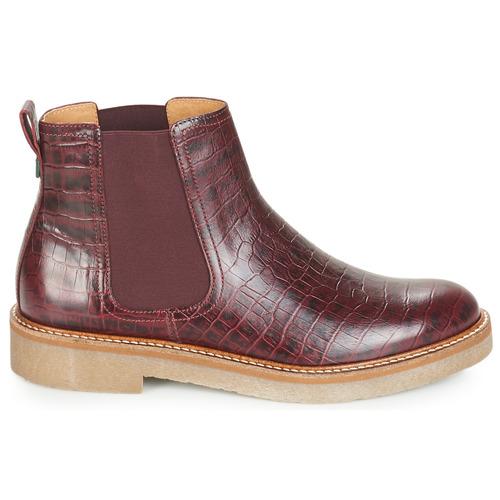Kickers OXFORDCHIC Bordeaux Bordeaux OXFORDCHIC Schuhe Boots Damen 139 d11117