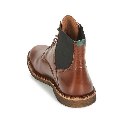 Kickers TITI Braun  Schuhe Boots Damen 149