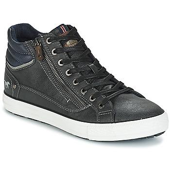 Schuhe Herren Sneaker High Mustang AIYANNA Grau