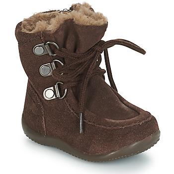 Schuhe Kinder Klassische Stiefel Kickers BAMARA Braun