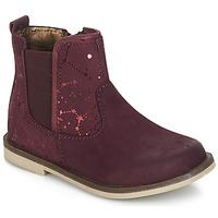 Schuhe Mädchen Boots Kickers MOON Bordeaux