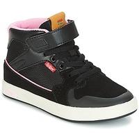 Schuhe Mädchen Sneaker High Kickers GREADY MID CDT Schwarz / Rose