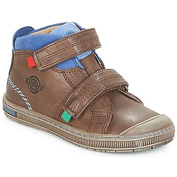 Schuhe Jungen Sneaker High Kickers IGUTO Braun