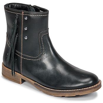 Schuhe Mädchen Klassische Stiefel Kickers MOLLY Schwarz