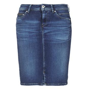 Kleidung Damen Röcke Pepe jeans TAYLOR Blau