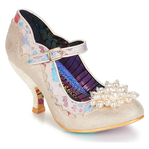 Irregular Choice Shoesbury Creme  Schuhe Pumps Damen 122