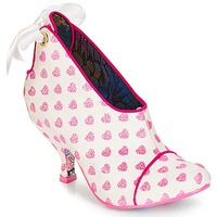 Schuhe Damen Ankle Boots Irregular Choice Love is all around Weiss / Rose