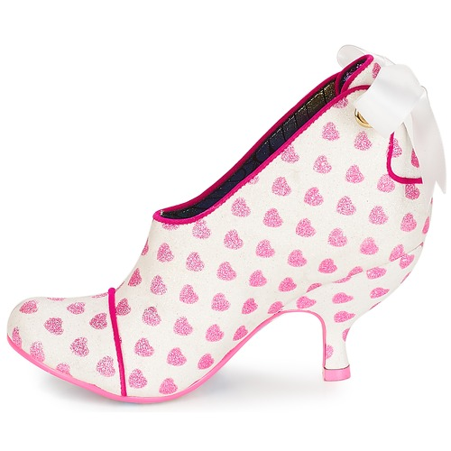 Irregular Choice Weiss Love is all around Weiss Choice / Rose  Schuhe Ankle Boots Damen 109 1fc53e