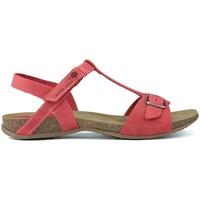 Schuhe Damen Sandalen / Sandaletten Interbios SANDALS AFRODITE 4462 ROJO