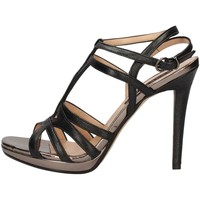 Schuhe Damen Sandalen / Sandaletten Silvana 342 BLACK