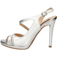 Schuhe Damen Sandalen / Sandaletten Silvana 954 Sandale Frau Silber Silber