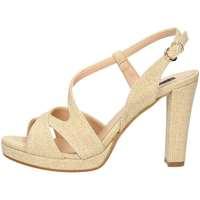 Schuhe Damen Sandalen / Sandaletten Silvana 986 Sandale Frau Gold Gold